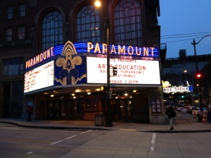 SPS Arts Education party at the Paramount